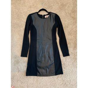 Philosophy Faux Leather Detail Dress Size 2